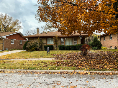 South Holland Single Family Home For Sale: 16416 Greenwood Avenue