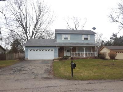 Crystal Lake Single Family Home For Sale: 9213 Arthur Street