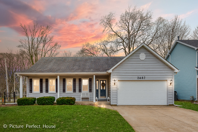 Naperville Single Family Home Contingent: 2487 Kingsley Drive
