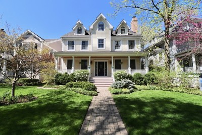 Wilmette Single Family Home For Sale: 714 Linden Avenue