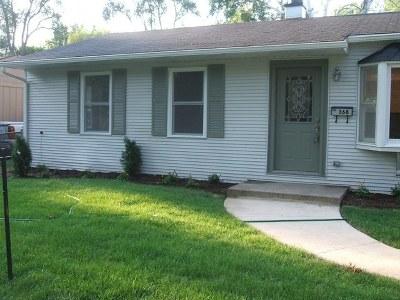 Buffalo Grove Single Family Home For Sale: 368 St Marys Parkway