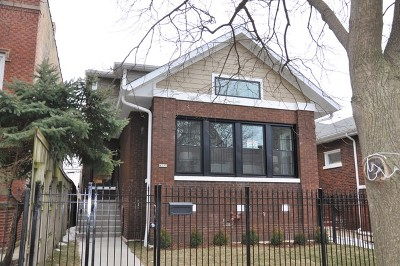 Single Family Home For Sale: 4532 North Spaulding Avenue