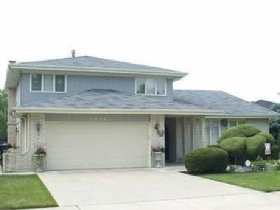 Alsip Single Family Home For Sale: 5851 West 124th Street