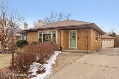 Mount Prospect Single Family Home For Sale: 110 South William Street