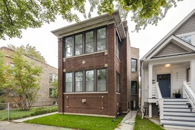Chicago Single Family Home For Sale: 4033 North Spaulding Avenue