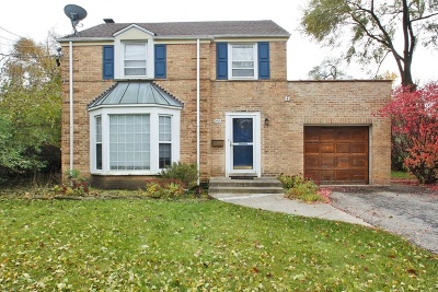Glenview Single Family Home For Sale: 2515 Glenview Road