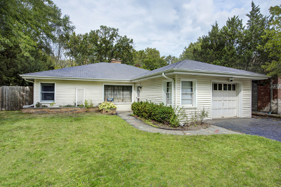 Highland Park Single Family Home For Sale: 1607 Grove Avenue