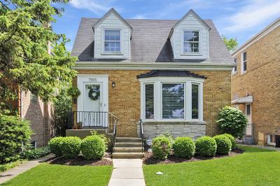 Chicago Single Family Home New: 7555 West Isham Avenue