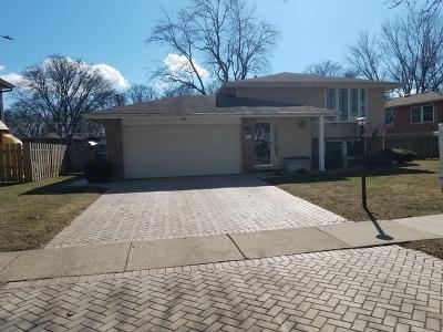 Mount Prospect Single Family Home For Sale: 2003 East Cayuga Lane
