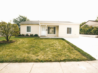 Romeoville Single Family Home For Sale: 413 Healy Avenue