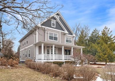 Glen Ellyn Single Family Home For Sale: 738 Western Avenue