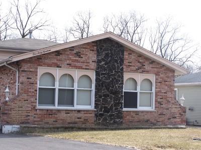 Oak Forest Single Family Home For Sale: 16019 South Lavergne Avenue