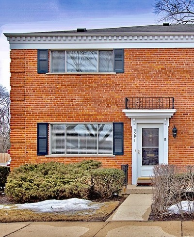Barrington Condo/Townhouse For Sale: 591 Shorely Drive