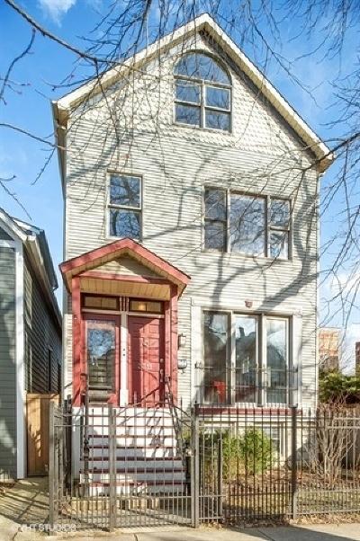 Chicago Single Family Home For Sale: 3311 North Hamilton Avenue