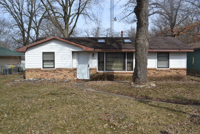 Wilmington IL Single Family Home For Sale: $134,900