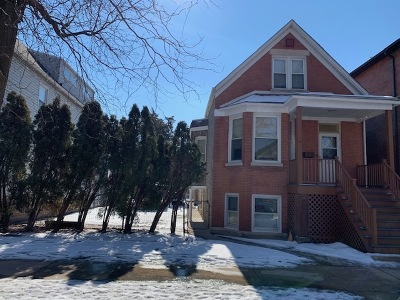 Chicago Single Family Home Contingent: 2033 West Berteau Avenue