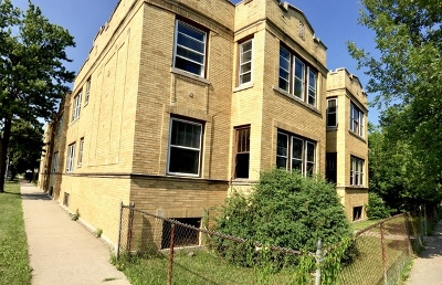 Chicago Multi Family Home For Sale: 1654 West 71st Street