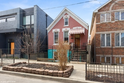 Chicago Residential Lots & Land Contingent: 1626 North Wolcott Avenue