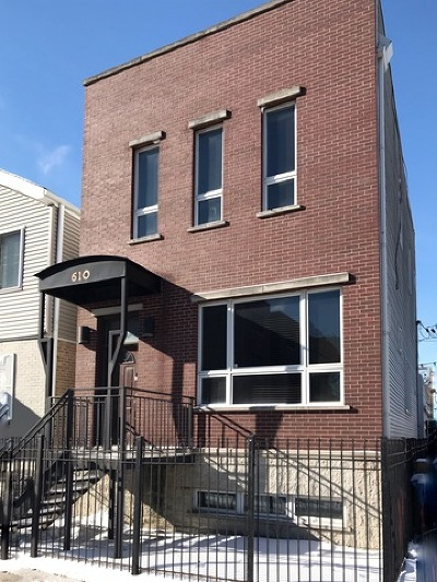 Chicago Single Family Home For Sale: 610 North Damen Avenue