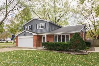 Palatine Single Family Home Price Change: 761 East Monterey Road