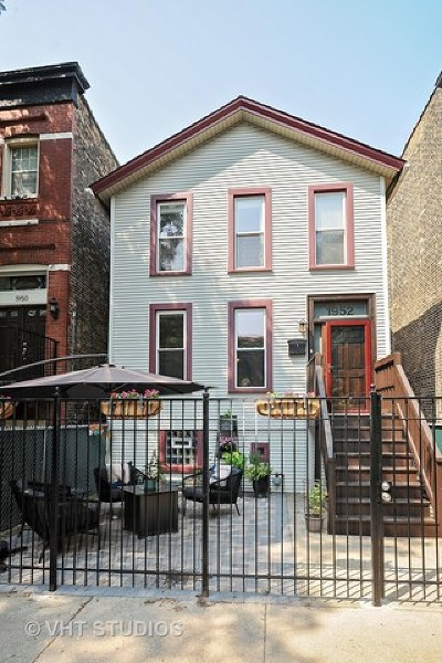 Chicago Single Family Home For Sale: 1952 North Bissell Street