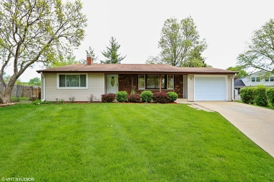 Buffalo Grove Single Family Home For Sale: 8 Katherine Court