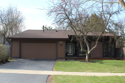 Roselle Single Family Home Contingent: 545 Sequoia Trail
