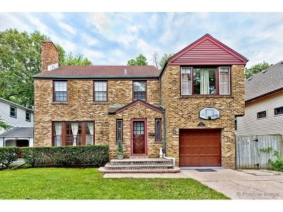 Highland Park Single Family Home For Sale: 580 Chicago Avenue