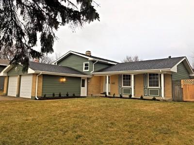 Crystal Lake Single Family Home For Sale: 273 Dartmoor Drive