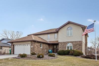 Homer Glen Single Family Home Price Change: 14509 South Golden Oak Drive