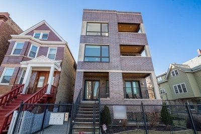 Condo/Townhouse For Sale: 1543 West Diversey Parkway #2