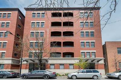 Condo/Townhouse For Sale: 1148 West Monroe Street #3NW