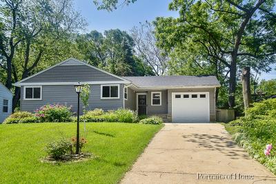 Wheaton Single Family Home For Sale: 1614 East Illinois Street