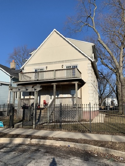 Evanston Multi Family Home New: 2013 Jackson Avenue