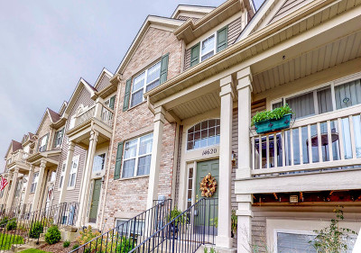Plainfield Condo/Townhouse For Sale: 14620 Paul Revere Lane