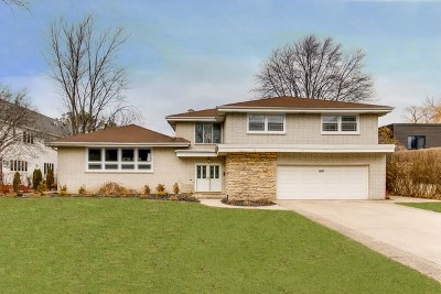 Glenview Single Family Home For Sale: 1430 Longvalley Road