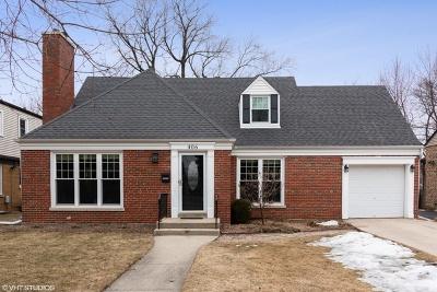 Mount Prospect Single Family Home For Sale: 406 West Lonnquist Boulevard