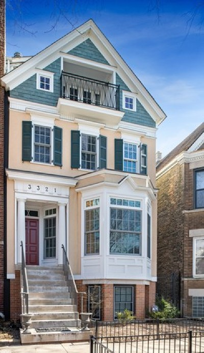 Roscoe Village Single Family Home For Sale: 3321 North Seeley Avenue