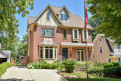 Naperville Single Family Home For Sale: 352 South Sleight Street
