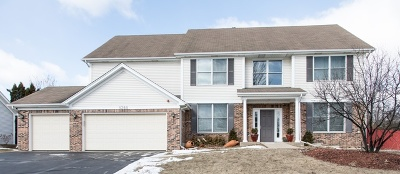 Hoffman Estates Single Family Home Contingent: 1360 Hunters Ridge W
