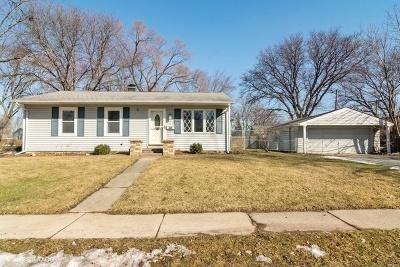 Buffalo Grove Single Family Home New: 208 Bernard Drive