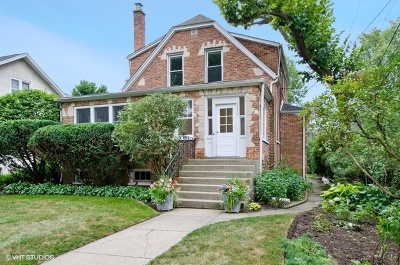 Evanston Single Family Home New: 2226 Payne Street
