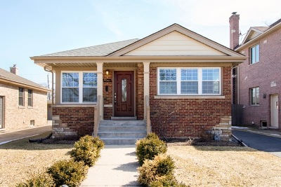 Niles Single Family Home Contingent: 8047 North Wisner Street