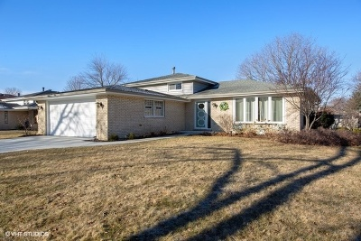 Downers Grove Single Family Home For Sale: 9s230 Florence Avenue
