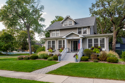 Glen Ellyn Single Family Home For Sale: 644 Hillside Avenue