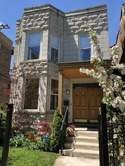 Chicago Single Family Home New: 2616 North Whipple Street
