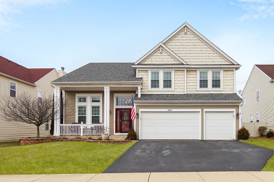 North Aurora Single Family Home For Sale: 445 Chesterfield Lane