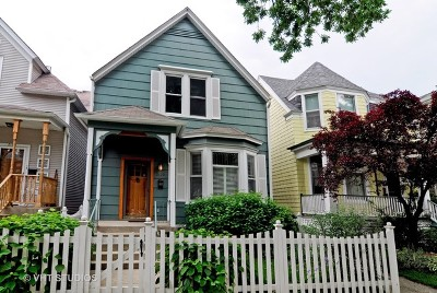 Single Family Home For Sale: 2129 West Bradley Place