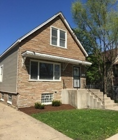 Chicago Single Family Home Re-Activated: 8514 South Marquette Avenue