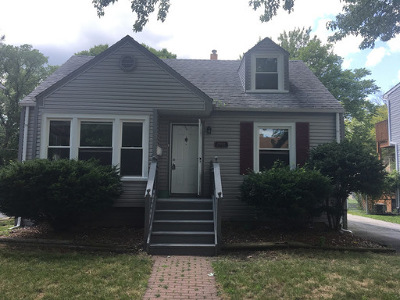 Homewood Single Family Home New: 18444 Palmer Avenue